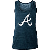 New Era Women's Atlanta Braves Tri-Blend Tank