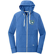 New Era Women's Milwaukee Brewers Full-Zip Hoodie