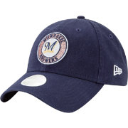 New Era Women's Milwaukee Brewers 9Twenty Patched Sparkle Adjustable Hat