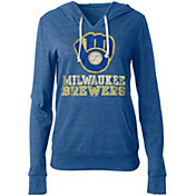 New Era Women's Milwaukee Brewers Pullover Hoodie
