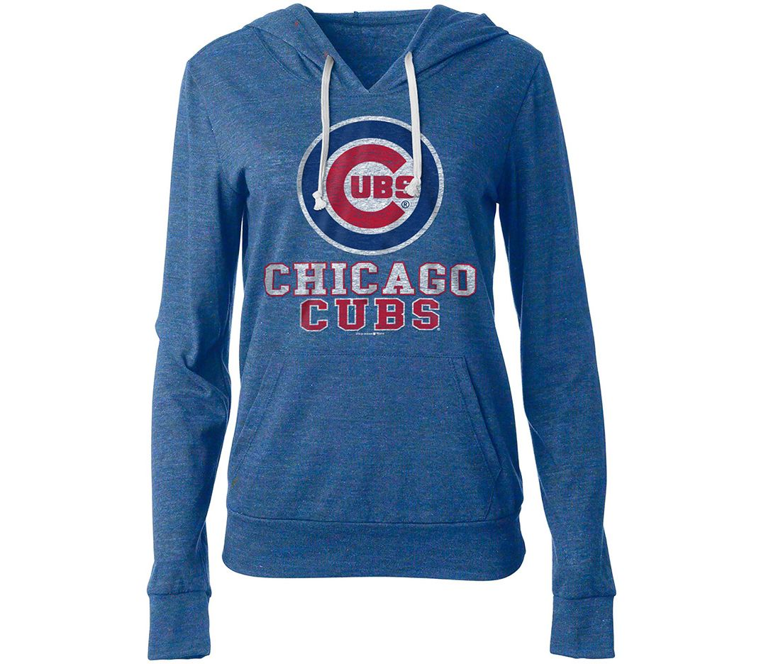 sale retailer 93d46 16df3 New Era Women's Chicago Cubs Pullover Hoodie