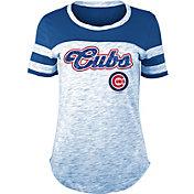 New Era Women's Chicago Cubs Space Dye T-Shirt