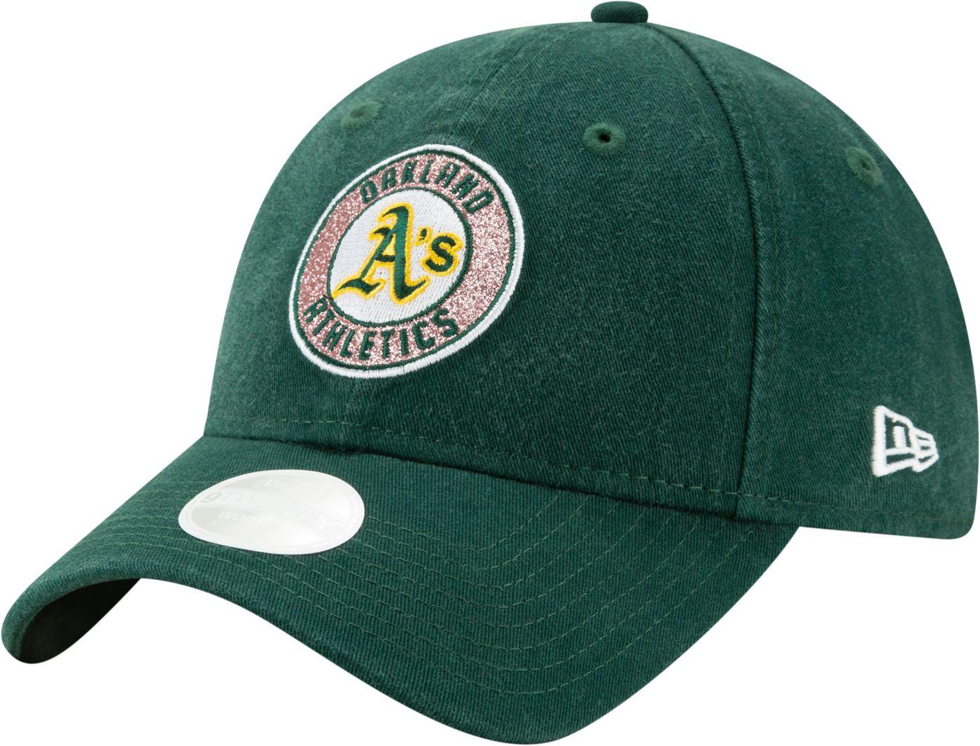 New Era Women's Oakland Athletics 9Twenty Patched Sparkle Adjustable Hat