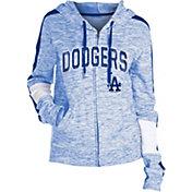 New Era Women's Los Angeles Dodgers Space Dyed Full-Zip Hoodie