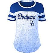New Era Women's Los Angeles Dodgers Space Dye T-Shirt