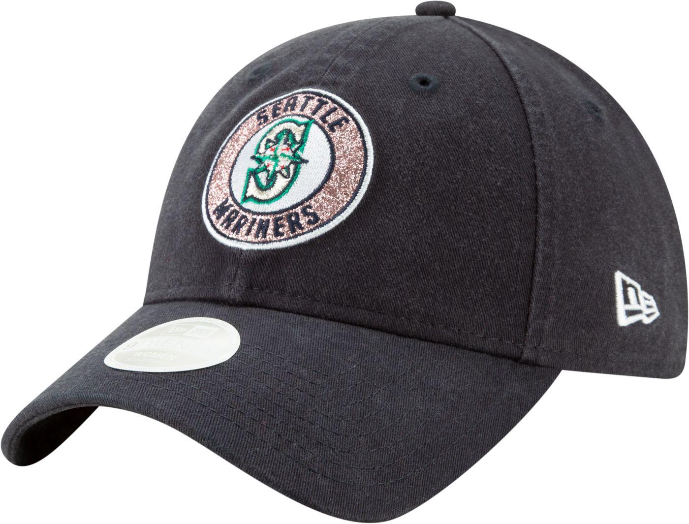 New Era Women's Seattle Mariners 9Twenty Patched Sparkle Adjustable Hat