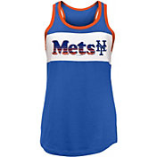 New Era Women's New York Mets Tri-Blend Tank