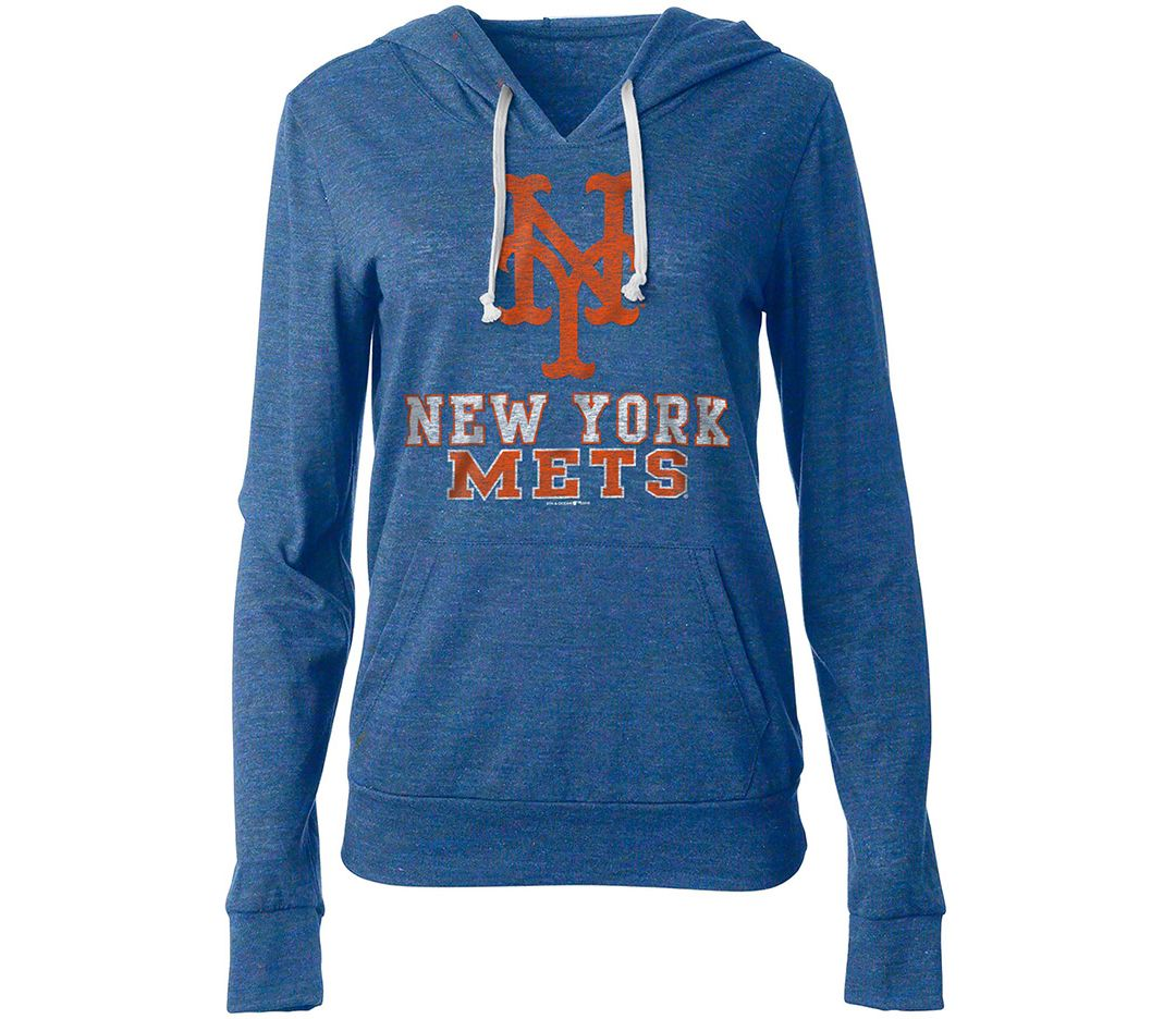 check out c4ae8 b7a89 New Era Women's New York Mets Pullover Hoodie