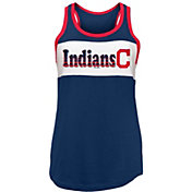New Era Women's Cleveland Indians Tri-Blend Tank