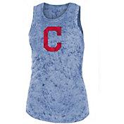 New Era Women's Cleveland Indians Washed Tank