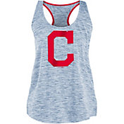 New Era Women's Cleveland Indians Space Dyed Tank