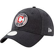 New Era Women's Cleveland Indians 9Twenty Patched Sparkle Adjustable Hat