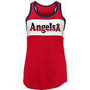 New Era Women's Los Angeles Angels Tri-Blend Tank