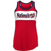 New Era Women's Washington Nationals Tri-Blend Tank