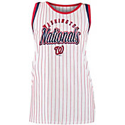 New Era Women's Washington Nationals Pinstripe Tri-Blend Tank