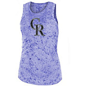 New Era Women's Colorado Rockies Washed Tank