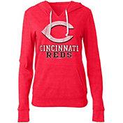 New Era Women's Cincinnati Reds Pullover Hoodie