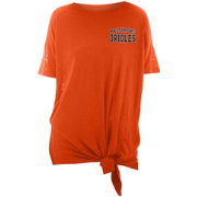 finest selection bf679 dad59 New Era Women s Baltimore Orioles Side Tie Shirt