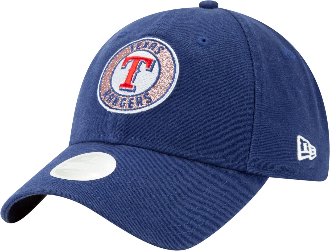 New Era Women's Texas Rangers 9Twenty Patched Sparkle Adjustable Hat