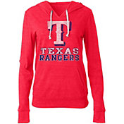 New Era Women's Texas Rangers Pullover Hoodie