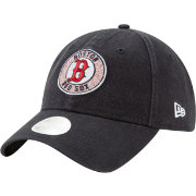 New Era Women's Boston Red Sox 9Twenty Patched Sparkle Adjustable Hat