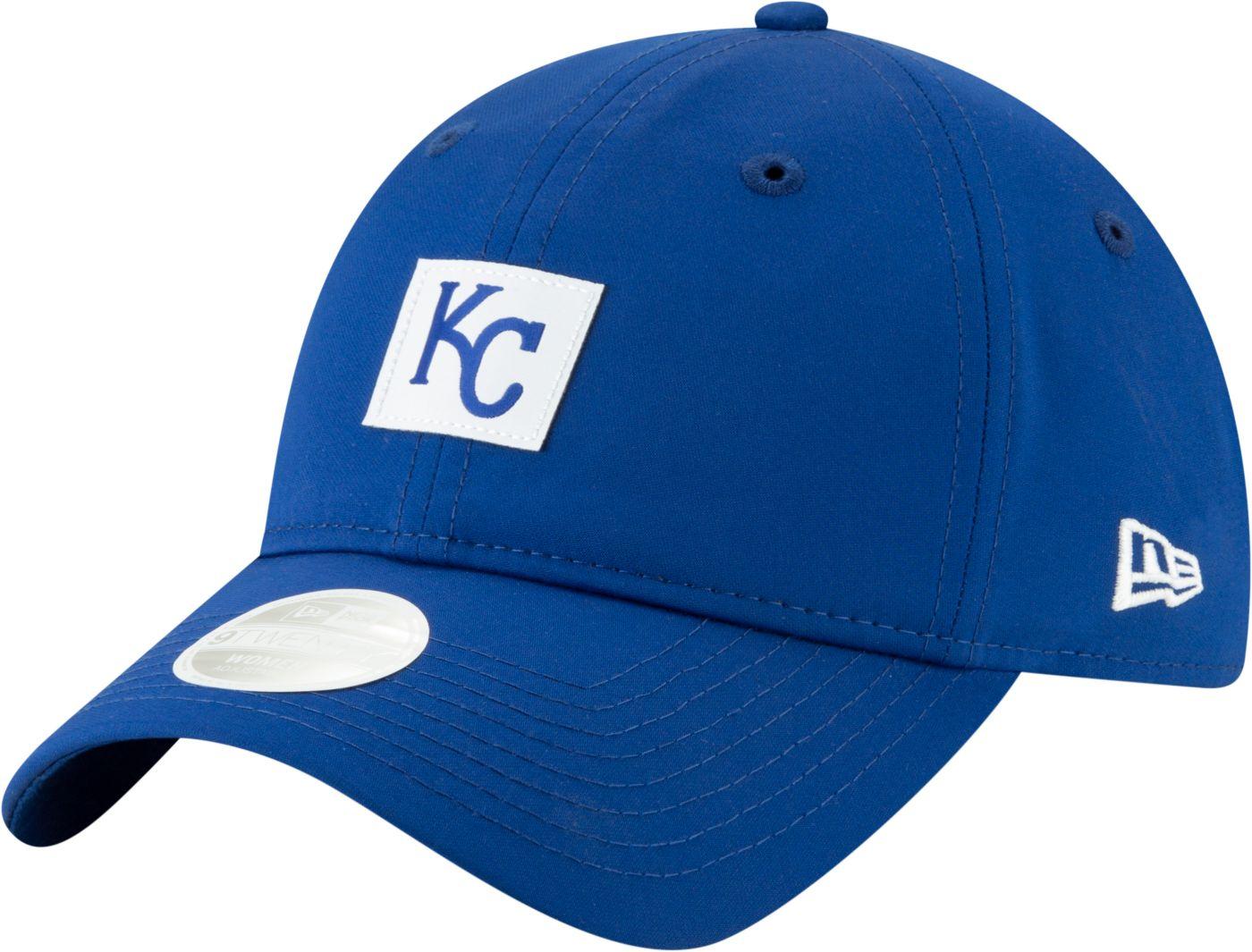 New Era Women's Kansas City Royals 9Twenty Sleekest Fan Adjustable Hat