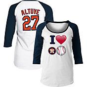 New Era Women's Houston Astros Three-Quarter Sleeve Shirt