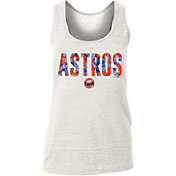 New Era Women's Houston Astros Tri-Blend Tank