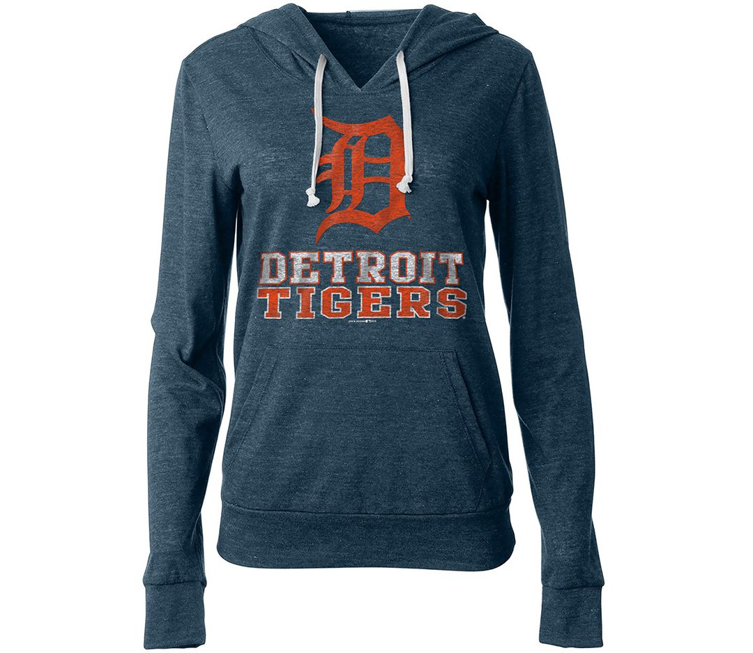 official photos c8a9c 9f8a6 New Era Women's Detroit Tigers Pullover Hoodie