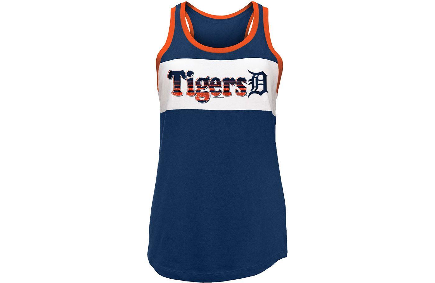 New Era Women's Detroit Tigers Tri-Blend Tank