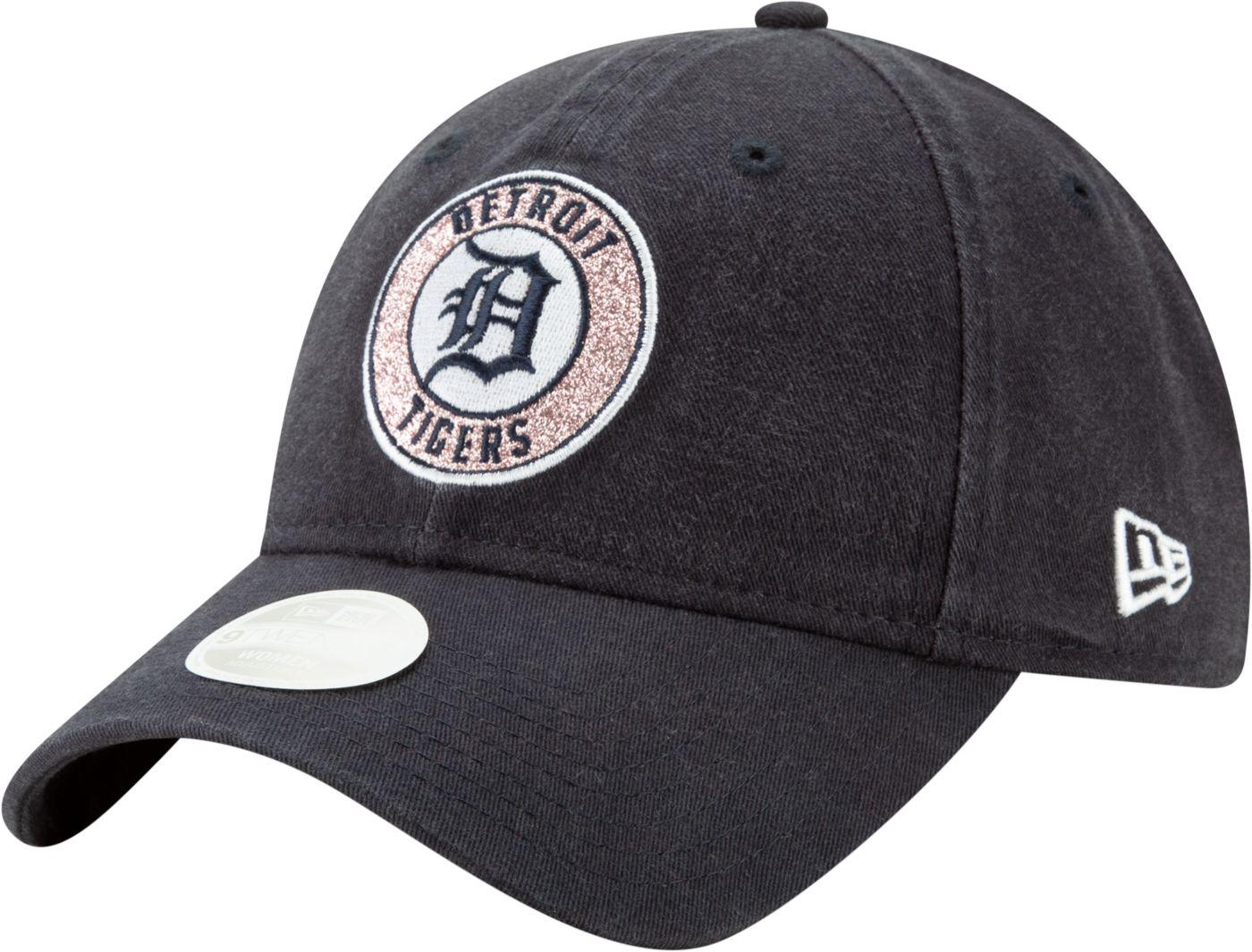 New Era Women's Detroit Tigers 9Twenty Patched Sparkle Adjustable Hat