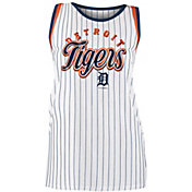 New Era Women's Detroit Tigers Pinstripe Tri-Blend Tank