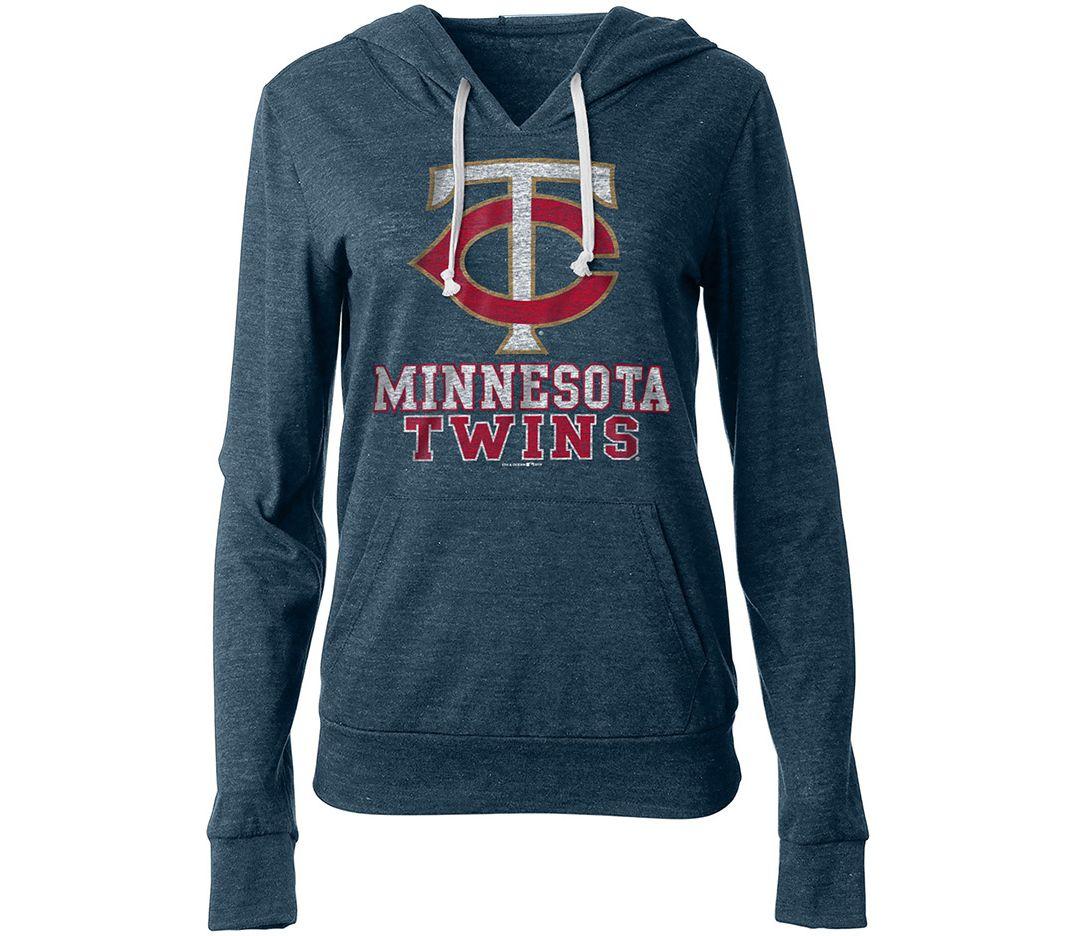 new concept 00d1f 21939 New Era Women's Minnesota Twins Pullover Hoodie