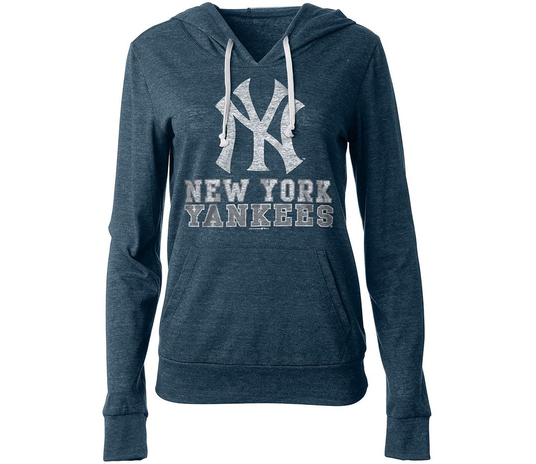 finest selection 570ea ab457 New Era Women's New York Yankees Pullover Hoodie