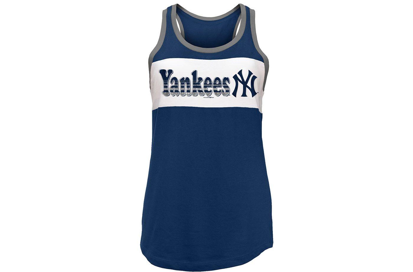 New Era Women's New York Yankees Tri-Blend Tank