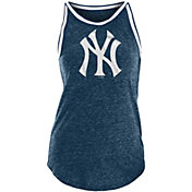 New Era Women's New York Yankees Tri-Blend Logo Tank