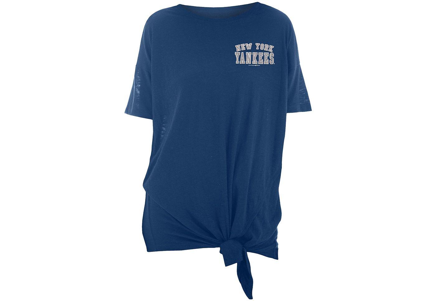 New Era Women's New York Yankees Side Tie Shirt