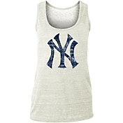 New Era Women's New York Yankees Tri-Blend Tank