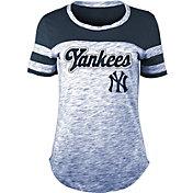 New Era Women's New York Yankees Space Dye T-Shirt
