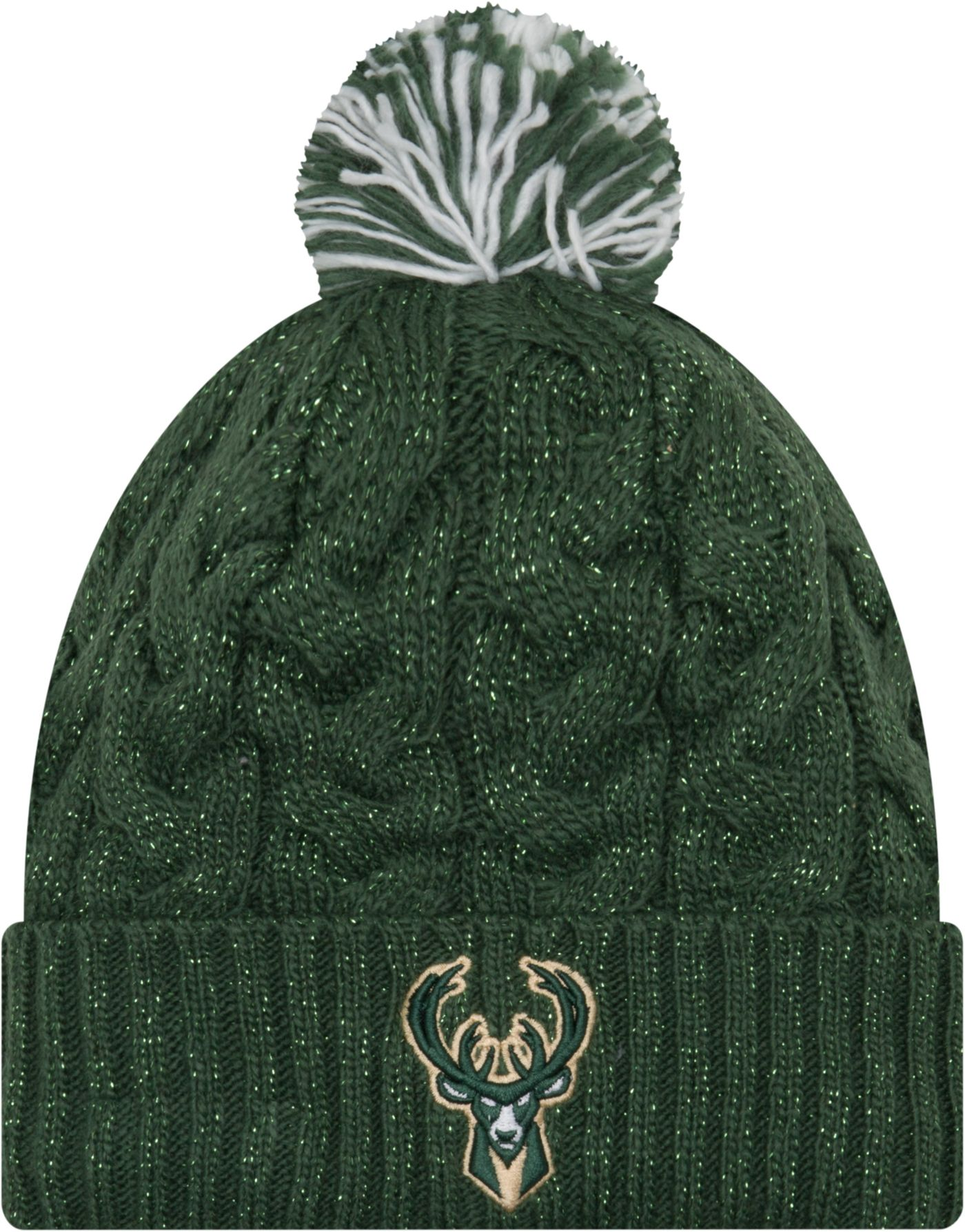 New Era Women's Milwaukee Bucks Cozy Knit Hat