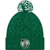 New Era Women's Boston Celtics Cozy Knit Hat