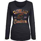 New Era Women's Cleveland Cavaliers Tri-Blend Long Sleeve Shirt