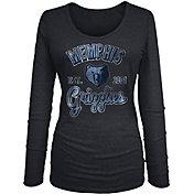 New Era Women's Memphis Grizzlies Tri-Blend Long Sleeve Shirt