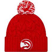 New Era Women's Atlanta Hawks Cozy Knit Hat