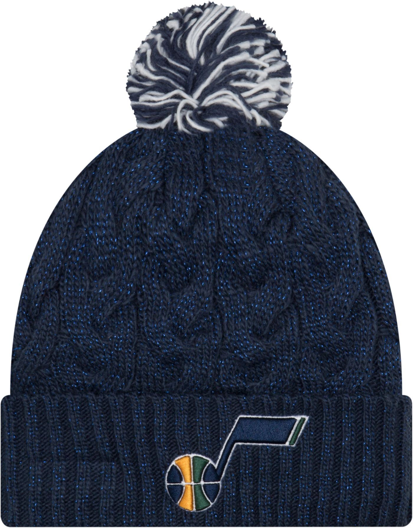 New Era Women's Utah Jazz Cozy Knit Hat