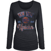 New Era Women's New York Knicks Tri-Blend Long Sleeve Shirt