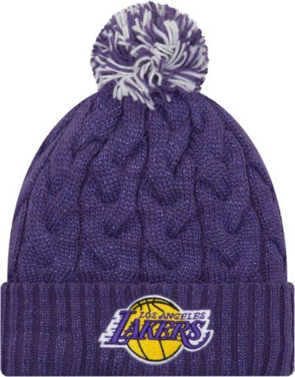 901091b4041 New Era Women s Los Angeles Lakers Cozy Knit Hat. noImageFound