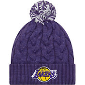 New Era Women's Los Angeles Lakers Cozy Knit Hat