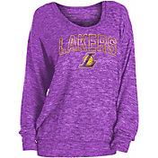 New Era Women's Los Angeles Lakers Long Sleeve Sweater