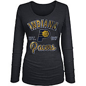 New Era Women's Indiana Pacers Tri-Blend Long Sleeve Shirt